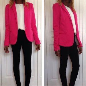 Zara Women hot pink blazer
